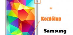 Samsung Galaxy S5 képernyőfotó készítése