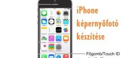 iphone képernyőfotó