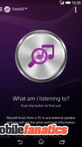 track id android zenefelismerő