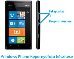 windows phone képernyőfotó