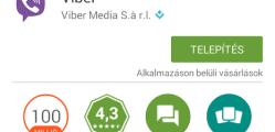 Viber letöltése telefonra magyarul ingyen