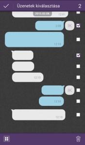 viber üzenetek törlése csoportosan
