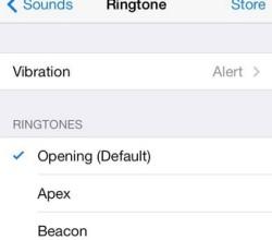 iPhone 6 csengőhang beállítás