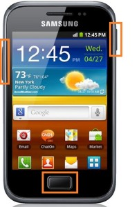 Samsung Galaxy mini 2 hard reset