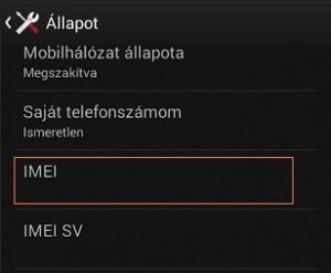 Sony Xperia Z3 IMEI