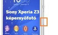 Sony Xperia Z3 képernyőfotó