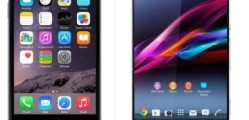Sony Xperia Z3 vs iPhone 6