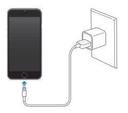 iPhone 6 első töltés