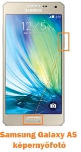 Samsung Galaxy A5 képernyőfotó