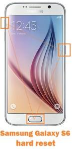 Samsung Galaxy S6 hard reset