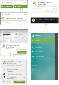Android uTorrent