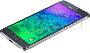 Samsung Galaxy Alpha képernyőfotó