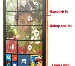 Microsoft Lumia 535 hard reset