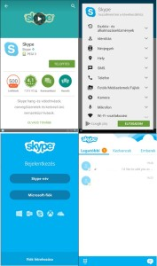 Skype telepítése androidra