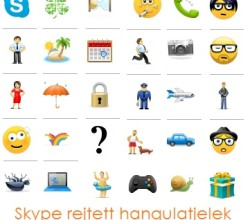 Skype rejtett hangulatjelek