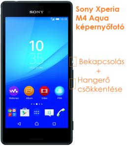 Sony Xperia M4 Aqua képernyőfotó