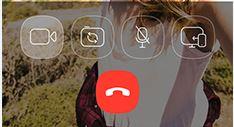 Viber videohívás iOS
