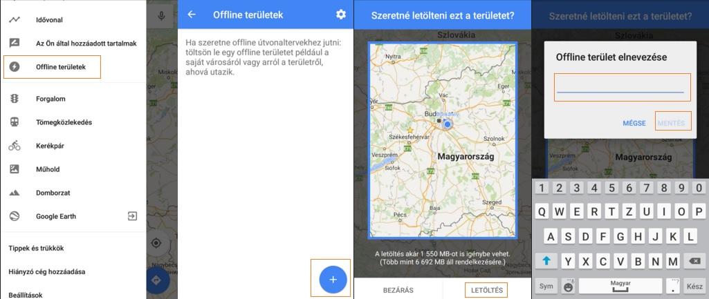 Google Maps Offline Hasznalata Mobilefanatics Hu