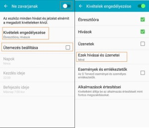 Samsung Galaxy A5 - Ne zavarjanak mód