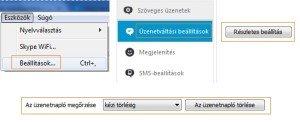 Skype üzenetek törlése