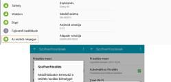 Samsung Galaxy A5 szoftverfrissítés