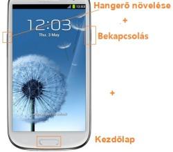 Samsung Galaxy S3 hard reset