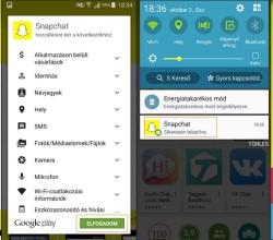 Snapchat letöltése és telepítése