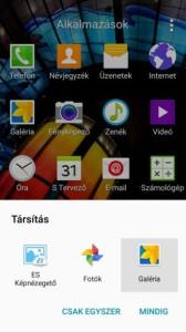 Android alapértelmezett alkamazás beállítása