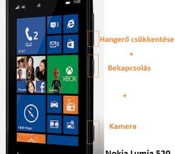 Nokia Lumia 520 hard reset