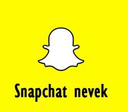 Snapchat nevek