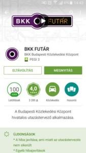 BKK futár app letöltés