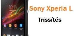 Sony Xperia L frissítés lépései