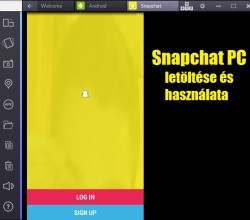 Snapchat PC letöltése és használata