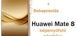 Huawei Mate 8 képernyőfotó készítés