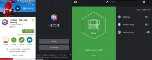 Hexlock alkalmazás