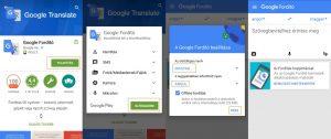 Google fordító program letöltés ingyen