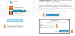 Twitter törlés lépései