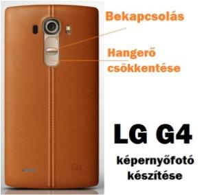 LG screenshot készítése