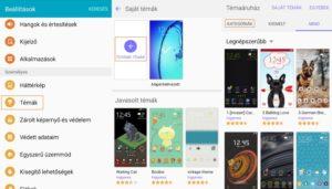 Samsung Galaxy J3 témák letöltése ingyen