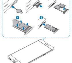 Samsung Galaxy Note 7 memóriakártya behelyezése
