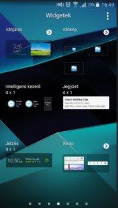Android widgetek törlése