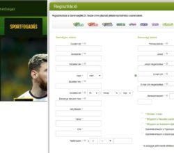 Tippmixpro regisztráció lépései