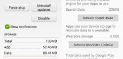 Google Play-szolgáltatások adatainak törlése