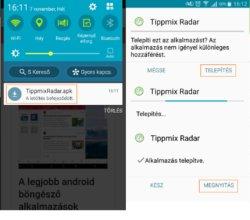 Tippmix Radar android verzió letöltése és telepítése