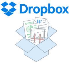 Dropbox tárhely