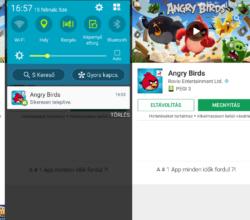 Angry Birds android letöltés ingyen