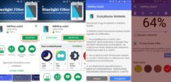 Kékfény szűrő android
