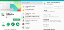 Google Play szolgáltatások frissítése lépésről lépésre
