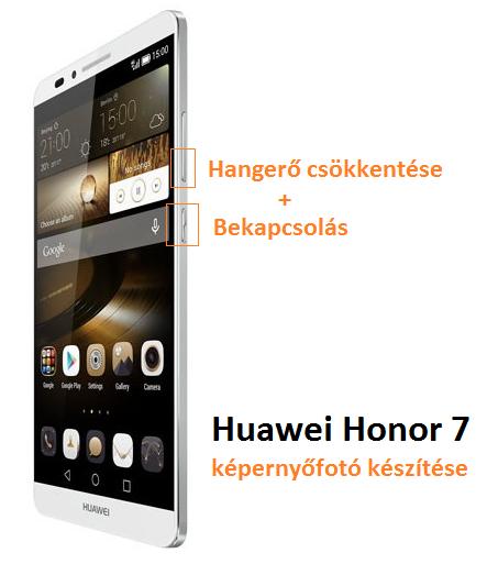 Huawei Honor 7 képernyőfotó